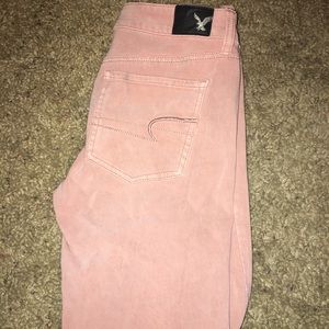 Denim - Pink jeggings